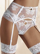 Romantisk stringtrosa i elegant spets