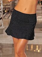 Kjol med prickigt mönster