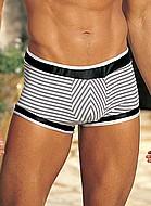 Boxershort med lätt vaddering fram