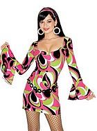 70-tals klänning med accessoarer