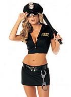 Fröken polis, kostym