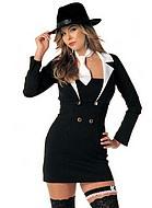 Kostym, kvinnlig gangster